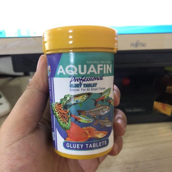 Thức ăn dán Aquafin 100